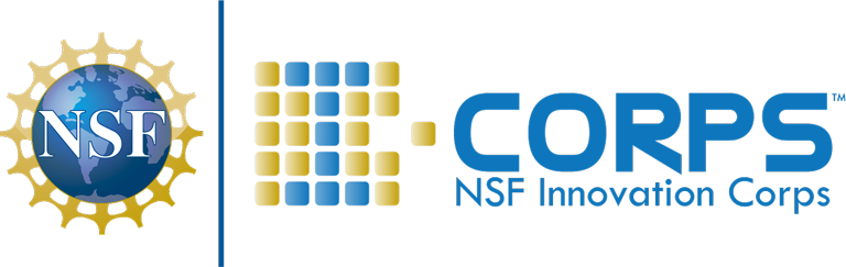 NSF I-Corps Cohort Meetings Mobile Logo
